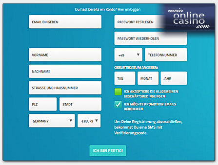 casino einzahlung per überweisung