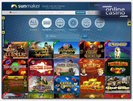 sunmaker online casino king com spielen